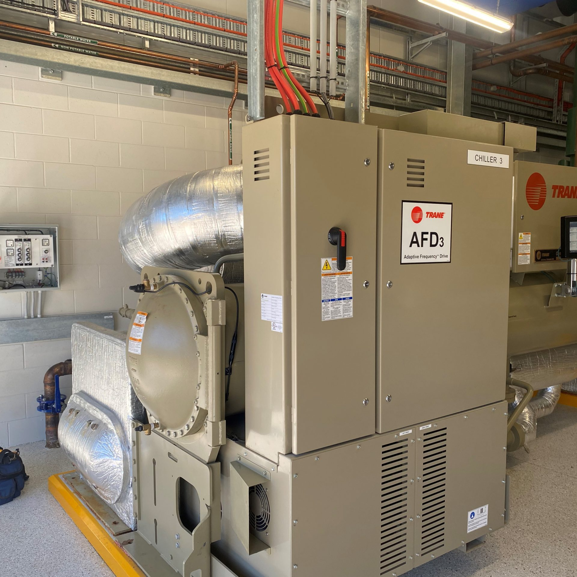 Water Chiller Cathodic Protection